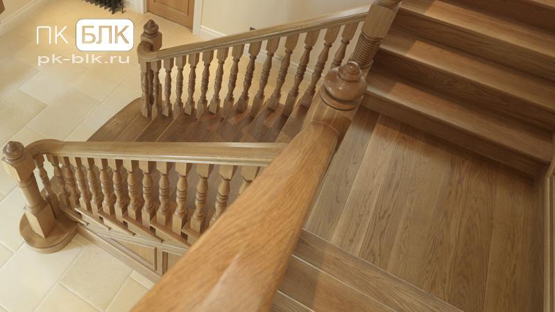 Деревянные лестницы пример