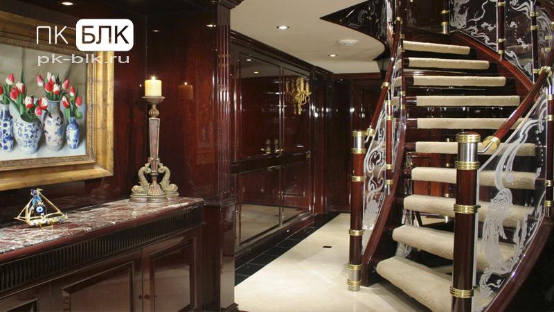 элитная деревянная лестница