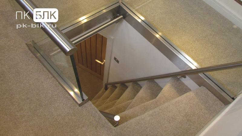 лестница на чердак hi-tech