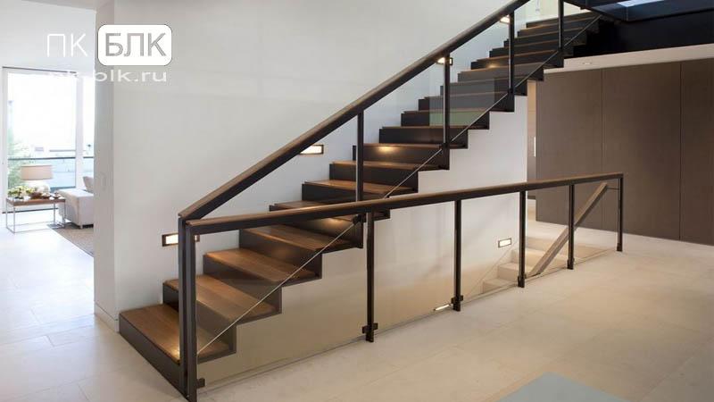 маршевые лестницы для дачи