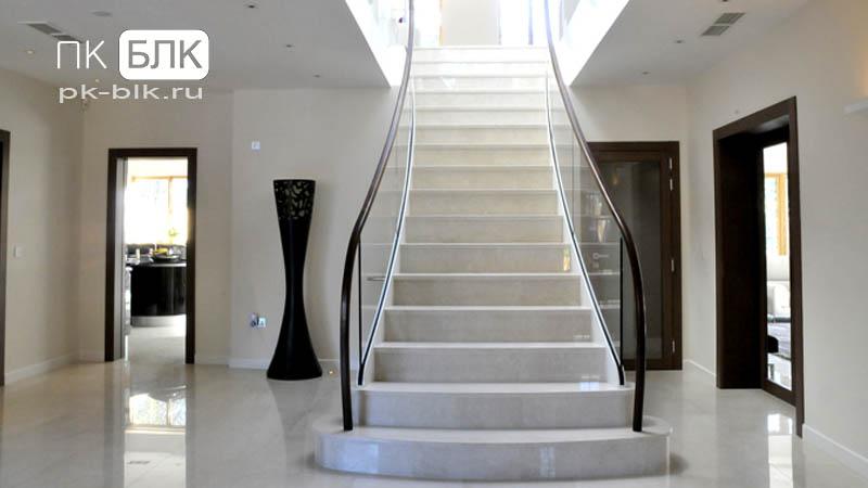 маршевая лестница бетонная