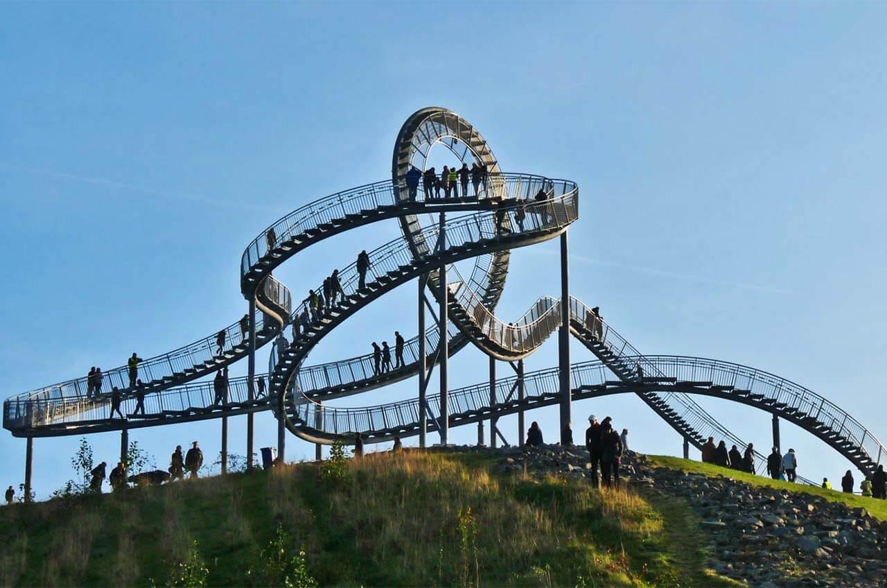 Горная лестница (Тигр и черепаха – волшебная гора). Дуйсбург. Германия