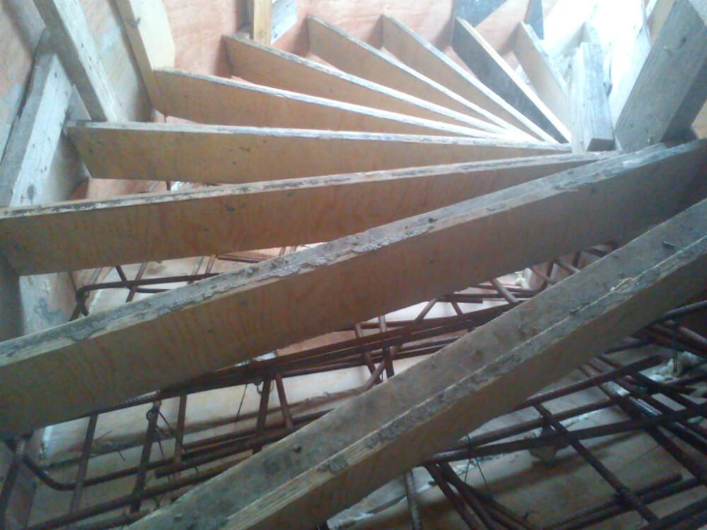 Типичные ошибки при изготовлении лестниц из бетона