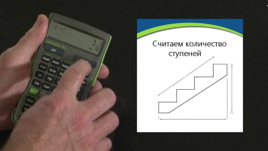 Как рассчитать количество ступеней для прямой лестницы