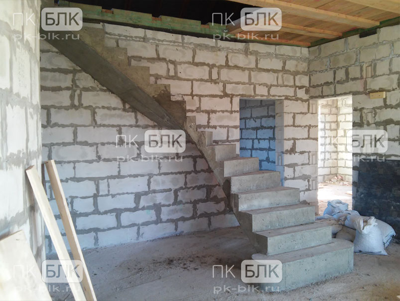 Красивые лестница своими руками