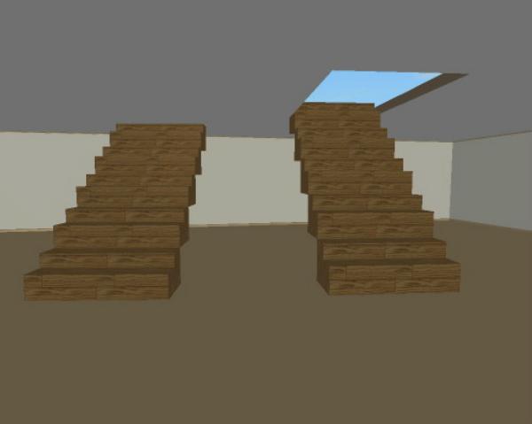 оптимальный проем для лестницы