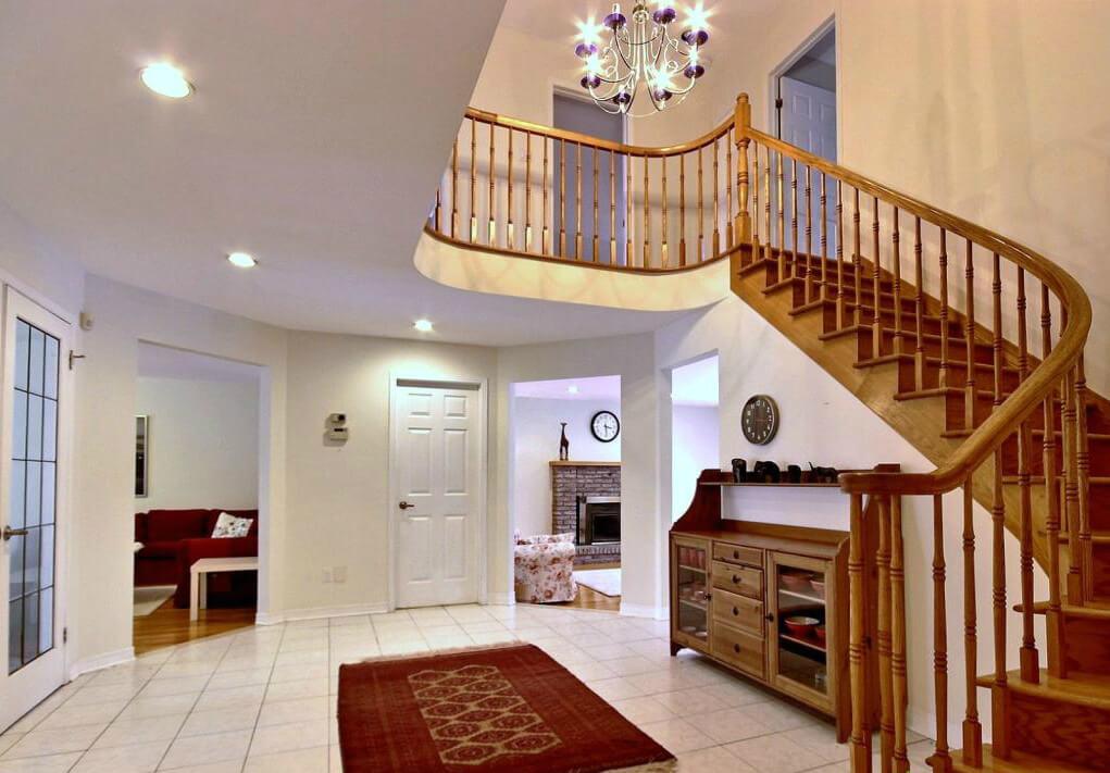 дизайн парадной лестницы