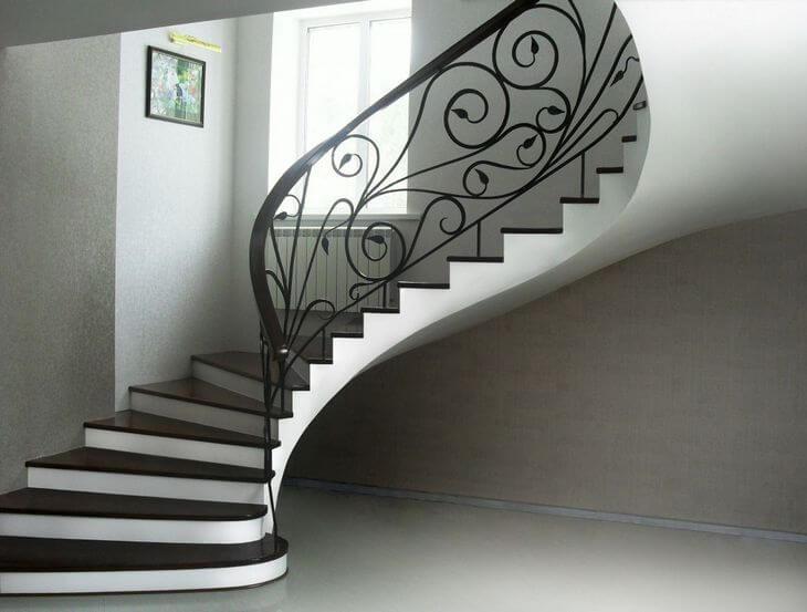 дизайн винтовой лестницы